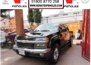 Peñoles vende chevrolet colorado 2009 b 4p l5 automatico a/a 4x4 electrica doble cabina