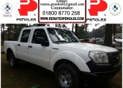 Peñoles vende ford ranger 2012 4 puertas estandar