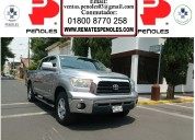 Peñoles vende toyota tundra 2009 4p sr5 5.7l automatico v8 4x2 doble cabina