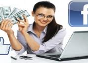 Gana mucho dinero usando tu facebook