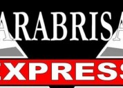 Parabrisas express los reyes, la paz