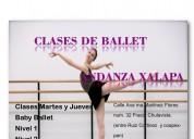Talleres ballet clásico