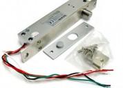 Cerradura angosta n.o.perno eléctrico, en aluminio en monterrey
