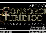 Consorcio jurÍdico villalobos y asociados