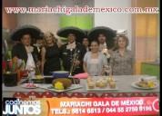 Mariachis de tradicion musical !!!profesionales!!!! tel 56146513