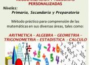 Matematicas . asesoria particular a domicilio