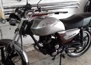 Moto italika ft-125 clasica 2013 gris, 31389 kilometros, servicios de afinación