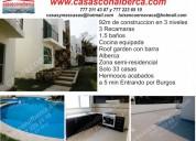 Venta 33 casas economicas,  sur  de cuernavaca morelos,  alberca