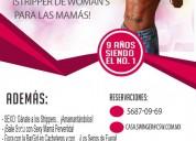 Miércoles 10 en csw: ¡stripper de woman's para las mamÁs!
