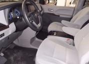 Toyota sienna xle 7 pasajeros