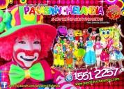 Payasos y payasitas para tu fiesta de cumpleaÑos - df/edomex