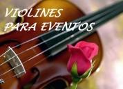 Los mejores violines en sus eventos