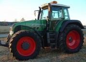 2001, tractor fendt 926 vario en excelentes condiciones