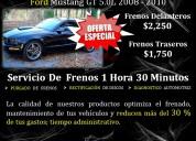 Servicio de frenos con alta calidad y potencia
