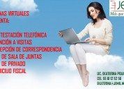 Renta oficina virtual con domicilio fiscal en zona rosa