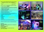 Paquete  # 4 disco  producciones *solaris* con pista iluminada* $ 10,000 pesos