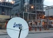 Internet satelital sonora para operaciones criticas