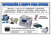 Reparación a equipo de oficina y electrodomésticos