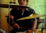 Baterista busca banda de rock