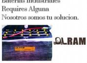 Baterias para montacargas de diferentes modelos y tamaÑos