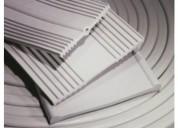 Venta de banda de pvc color blanco y negro