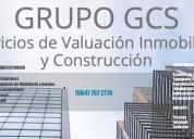 Construcción y valuación inmobiliaria