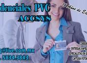 Credenciales pvc urgentes, centro de impresion y maquila