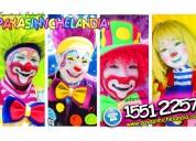 Payasos y payasitas para fiestas infantiles en chimalhuacan