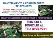 Instalacion y programacion a conmutadores telefonicos