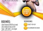 Jueves 25 en csw: ¡tatúala desnuda con tus dedos!