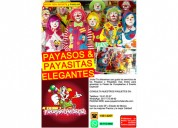 Payasos y payasitas para tu fiesta - show 100% infantil y familiar