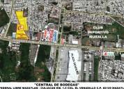 Bodega en renta de 480m2, el venadillo,mazatlán,sinaloa