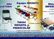 Venta de mesas y sillas para su negocio