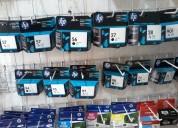 Se venden consumibles para impresoras, cartuchos de toner y de tinta