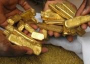 Vender 150 kg de lingotes de oro puro