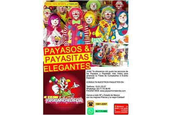 SHOW DE PAYASOS 100% INFANTIL y FAMILIAR