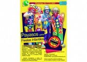 Show de payasos para fiestas infantiles - precios accesibles