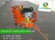 Cortadora de concreto y asfalto joper con motor mpower 9 hp