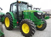 John deere tractor agricola 6125m 2013