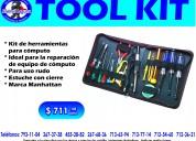 Kit de herramientas para reparaciÓn de equipo de computo