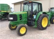 Tractor agricola john deere 6420 sencillo