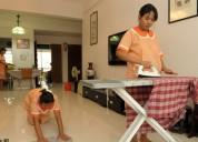 Estamos buscando el servicio de una au pair nanny, cook, gardner,