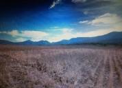 Vendo terreno de 50,000 m2. con pozo, actopan, hgo.