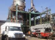 Compro para su desmantelamiento de plantas y naves industriales, edificaciones, estructural.