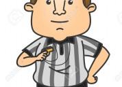 solicito arbitro en  zona de tepojaco