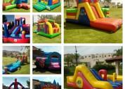 Renta de brincolines para fiestas y eventos