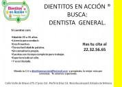 vacante para dentista general en nezahualcÒyotl