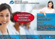 Ejecutivos telefónicos (ventas)