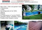 Vendo departamento en cuernavaca, morelos, roof garden