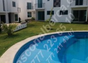Venta de  33 casas, alberca a 15 min. centro cuernavaca en 3niv. con roof garden